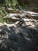 Rock Climbing Photo: the steep stuff up top
