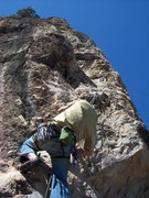 Rock Climbing Photo: Two Moon Buttress at the Puoux, Glenwood Canyon.
