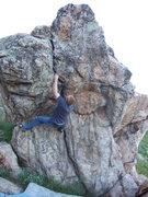 Rock Climbing Photo: Patriot Crack V2