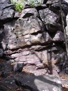 Rock Climbing Photo: Footstone