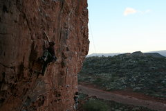 Rock Climbing Photo: Garden of Eden 10d Chuckawalla