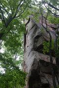 Rock Climbing Photo: Gnarly arete.