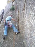 Rock Climbing Photo: At the start of the climb.