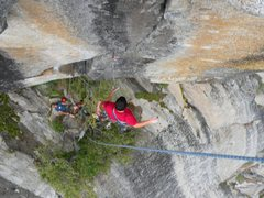 Rock Climbing Photo: Taking a clean whipper of Tales of Power. Photo by...