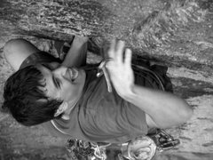 Rock Climbing Photo: Tales of Power. Photo By D Burd