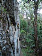 Rock Climbing Photo: D Burd solos Highway star