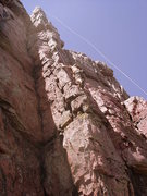 Rock Climbing Photo: Ingman on Becky's Arete.