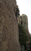 Rock Climbing Photo: Getting closer