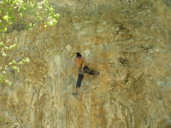 Rock Climbing Photo: Resting before the crux.