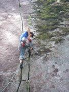 Rock Climbing Photo: Brad sending Pressure Drop.