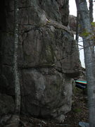 Rock Climbing Photo: Face and right arete