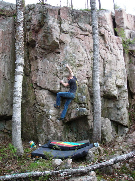 Rock Climbing Photo: T.V. Hooker