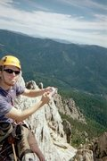 Rock Climbing Photo: Mt. Hubris Castle Crags S.P.