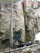 Rock Climbing Photo: First