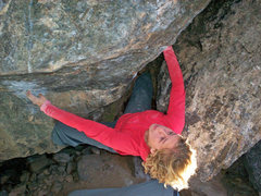 Rock Climbing Photo: Ashley Gann on Revenge.