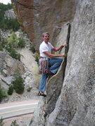 Rock Climbing Photo: Starting Cosmosis.