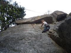 Rock Climbing Photo: Taking a lap on Electra Glide.