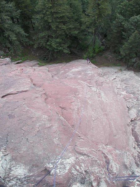 Rock Climbing Photo: Ralph Burns and Rich Perch starting the Direct SE ...