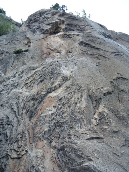 Another view of Road Runner (5.9) at the Puoux, Glenwood Canyon.