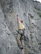 Rock Climbing Photo: Stay True (5.11) at the Puoux, Glenwood Canyon.