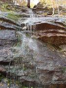 Rock Climbing Photo: shower time