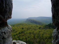 Rock Climbing Photo: looking south from sky top