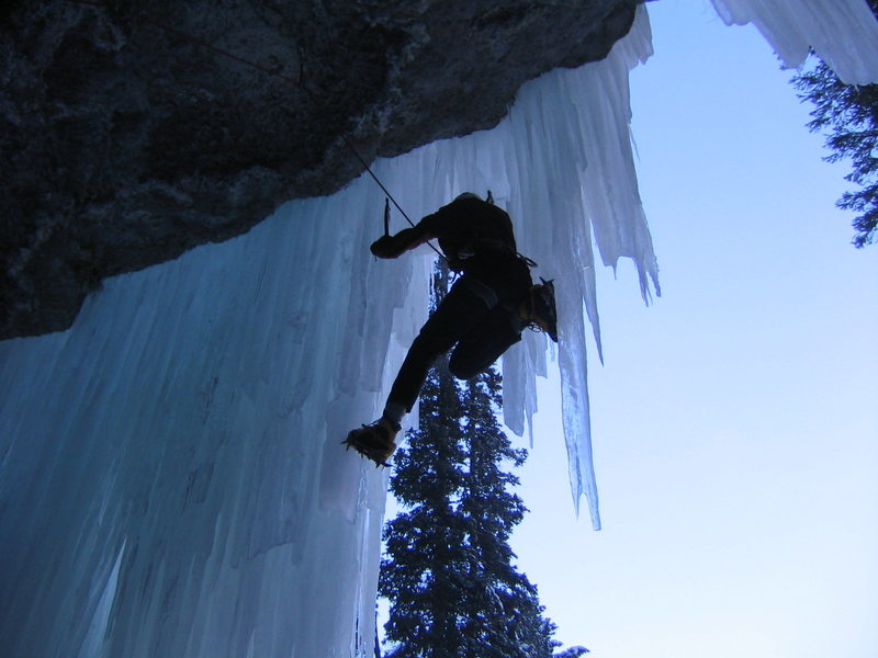 Gaining the ice.