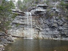 Rock Climbing Photo: Awosting Falls, Minnewaska