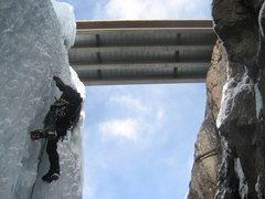 Rock Climbing Photo: Way under the Bridge.