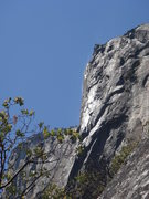 Rock Climbing Photo: Day 2 - Water blowing high on American Wall, from ...