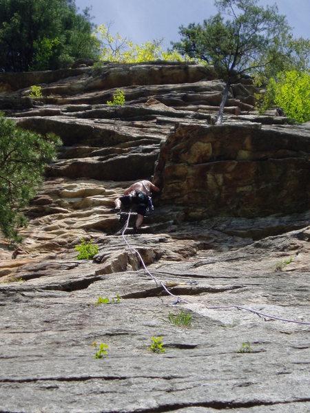 Rock Climbing Photo: From Nowhere to Jugs