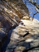 Rock Climbing Photo: 1st pitch of Airy Aria