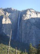 Rock Climbing Photo: Day 4 - Morning, Ribbon Falls.