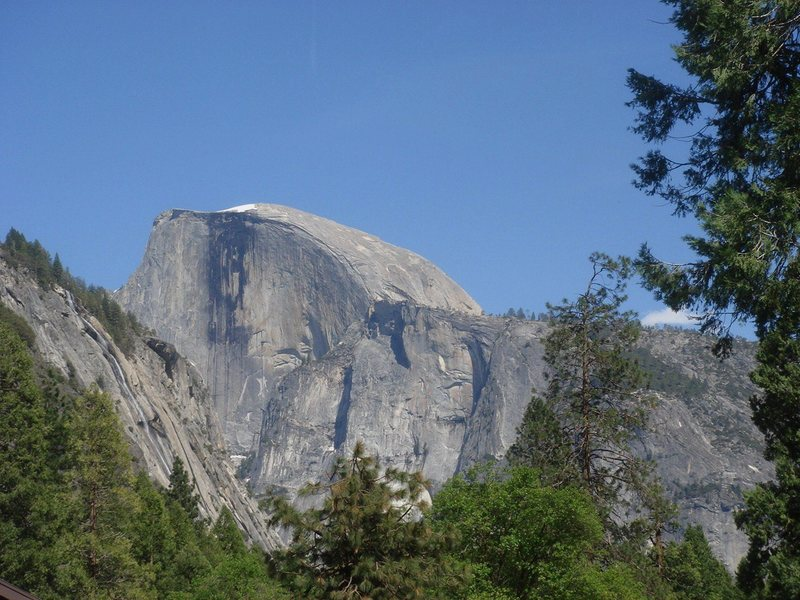 Rock Climbing Photo: Day 4 - Half Dome zoomed.