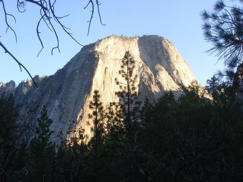 Rock Climbing Photo: Day 4 - Middle Cathedral Rock in the late afternoo...
