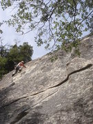 Rock Climbing Photo: Day 5 - Onto the fun and easy sea of knobs...  Pho...