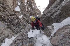 Rock Climbing Photo: 2009.05.20 Shuhlakeiss simul-soloing beyond the fi...