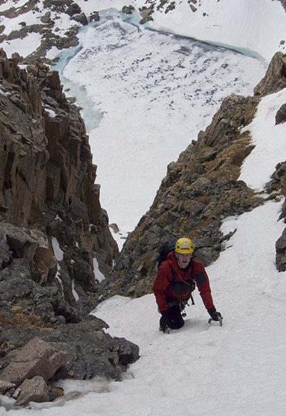2009.05.20 Shuhlakeiss on the mellow upper slopes of Martha, RMNP.