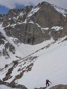Rock Climbing Photo: 2009.05.20 en route to Mt. Lady Washington after M...