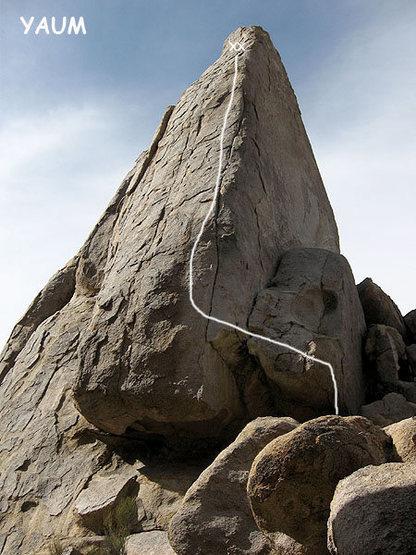 Rock Climbing Photo: Yaum. Photo by Blitzo.