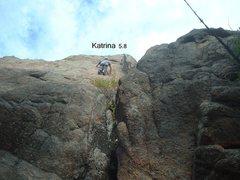 Rock Climbing Photo: Photo of Katrina.