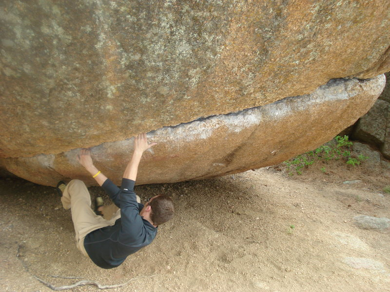 Rock Climbing Photo: Jaws Traverse