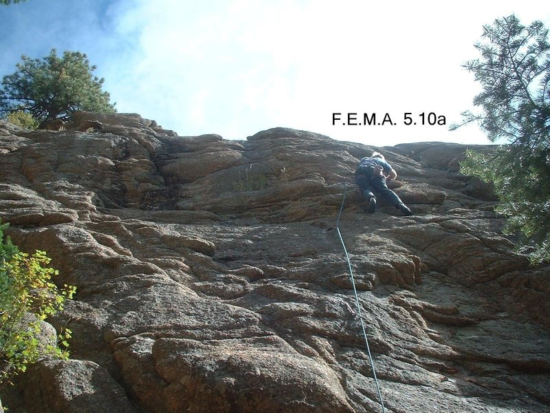 Rock Climbing Photo: Photo of F.E.M.A.
