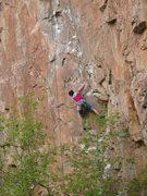Rock Climbing Photo: Me on Feline!
