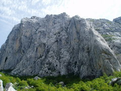 Rock Climbing Photo: Anica Kuk, Paklenica 10 pitch sport routes... 350 ...