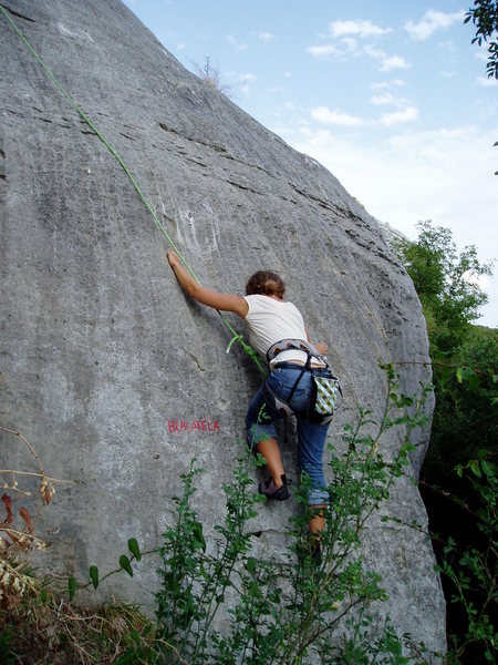 5a slab at Dvigrad