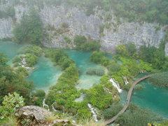 Rock Climbing Photo: Plitvice National Park