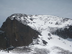 Rock Climbing Photo: Tons of snow, but perfect conditions for approach ...