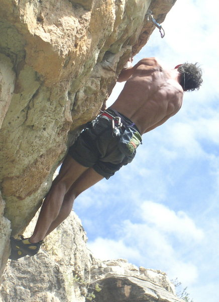 Rock Climbing Photo: me at jacks canyon