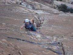 Rock Climbing Photo: Coming up pitch 5 beautiful climbing